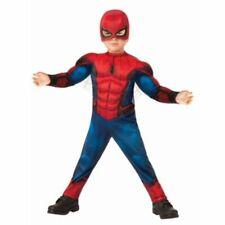 Toddler Boys Marvel Spiderman Halloween Costume Size 3t-4t