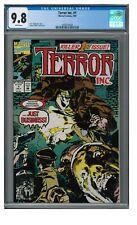 Terror Inc. #1 (1992) Key 1st Issue Marvel CGC 9.8 EB581