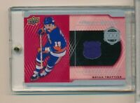 2018-19 UPPER DECK SERIES 2 BRYAN TROTTIER 1000 POINT GW ISLANDERS JERSEY 1:864