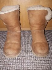 UGG Boots ladies Ankle Brown Size 4.5 , In Bueatful Conditions