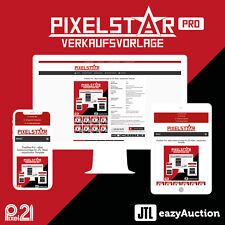 PixelStar Pro eBay Auktionsvorlage RESPONSIVE JTL Wawi eazyAuction Template