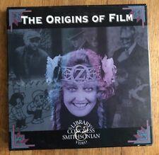Laserdisc. THE ORIGINS OF FILM box set. Silent. Library of Congress/Smithsonian
