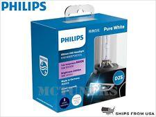 2 x PHILIPS D2S ULTINON 6000K 85122WXX2 HID BULBS | PACK OF 2