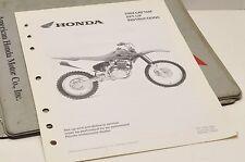 2004 CRF150F CRF 150F GENUINE Honda Factory SETUP INSTRUCTIONS PDI MANUAL S0204