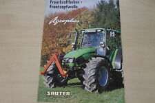159117) Deutz-Fahr Agroplus - Sauter - Prospekt 200?