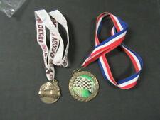 Pinewood Derby Medal Marathon Award Trophy W//Free Lanyard  3D308 Scouts