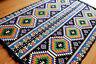 135x200 cm Orientalischer Teppich,Kelim,Carpet,Rug,Läufer,Damaskunst S 1-4-79