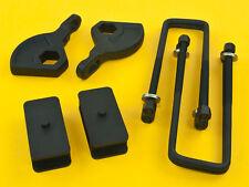 "Steel Lift Kit | Front Adjustable 1-3"" Rear 2.5"" | Dakota 1987-2004 4WD"