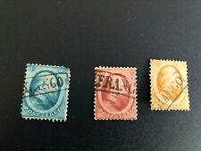 netherlands stamps scott 4-6 used scv 124.00 c1569