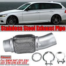 Flexible Pipe Diesel Particulate Filter DPF for BMW E81 E82 E87 E88 E90 E91 UK