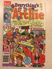 Everything's Archie # 143 July 1989 Comic Book Archie Series