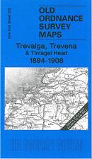 Old Ordnance Map Trevalga, Trevena & Tintagel Head 1894-1908 - England Sheet 322