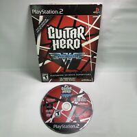 PS2 Guitar Hero Van Halen Playstation 2 Promotion/Not For Resale, Tested & Works