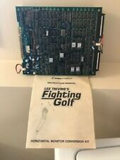 FIGHTING GOLF ARCADE JAMMA PCB TESTED