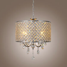 Hot Crystal Ceiling Light Pendant Lamp Lighting Fixture Chandelier 4 Lights