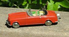 50`s Schuco 1048 BMW 503 Micro Racer Metal Windup Red Toy Car nice clean runs