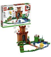 Lego Super Mario Guarded Fortress Castle Expansion Set 71362 New in Hand 486pcs