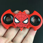 Batman Spiderman Tri Fidget Spinner Hand Finger EDC Focus Desk Toy Gyro
