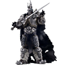 "World of Warcraft The Lich King Arthas Menethil Figure 6.7"" Statue Toy"