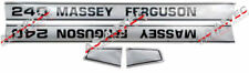 5778 Aufklebersatz Traktor Massey Ferguson MF 240