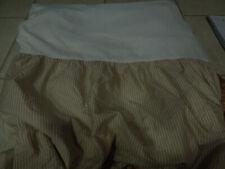 lauren ralph lauren king tan stripe bed skirt