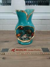 Lampe amphore  Poisson VALLAURIS vintage An 70 's