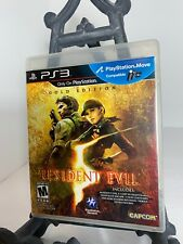 Resident Evil 5 Gold Edition PS3 (Sony PlayStation 3, 2010) Complete - Pre-Owned