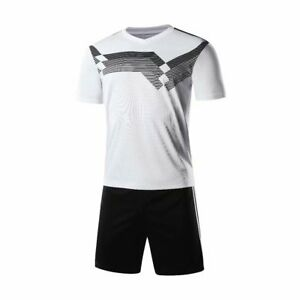 free shipping blank Germany soccer jersey and shorts, soccer uniform,