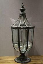 Laterne Teelichthalter Windlicht Shabby Chic Groß Kerzenständer