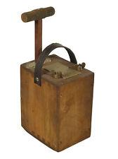 TNT Dynamite Blasting Machine Plunger Box - Museum Quality Replica