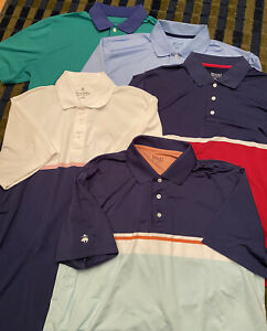 Brooks Brothers Performance Golf Polo XL Lot