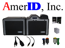 Fargo HDPii HDP5000 Double-Sided ID Card System + Supplies, Software & Warranty