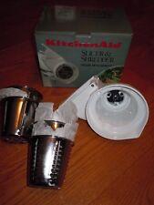 Kitchen Aid Slicer Shredder Mixer Attachment Model RVSA