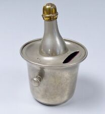 original sehr alte Spardose als Sektkühler   (da5823)