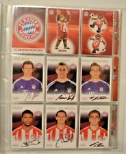 Panini FC Bayern München Trading Cards/2011/ alle 76 Karten komplett+Trikotkarte