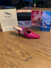 2002 Raine Just The Right Shoe Midori Magenta Coa Brand New # 25227 Retired Nib