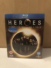 Heroes Seasons 1-3 [Blu-ray] [Region Free] Blu-ray