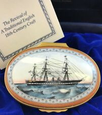 Halcyon Days Enamels - H.M.S. Warrior