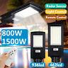 1500W 150000LM 936LED Solar Street Light Motion Sensor Outdoor Yard Wall Lamp