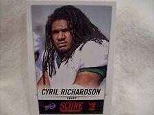 2014 Score Football #355 Cyril Richardson Rookie card - Bills