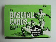 1975 Topps Baseball Cello Pack  Display Box  - Pre Xmas CLOSEOUT