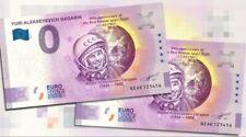 2x 0 euro Gagarin New design+Anniversary paired numbers!