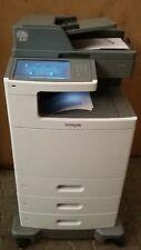 Lexmark X792DE Laserdrucker MFP  nur 51600 Seiten gedr. Verbr. Material OK