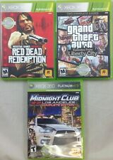 Red Dead, GTA, Midnight Club XBOX360 Platinum Hits 3-Pack (7172-US17)
