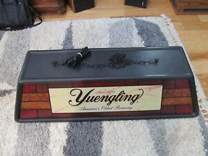 RARE Yuengling Beer Pool Table Hanging Bar Light