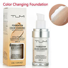 Hot 30ml TLM Color Changing Foundation Makeup Base Skin Tone Change Base Nude