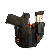 Fits Springfield HELLCAT 9MM Gun Mag Combo IWB ~ORANGE, CARBON FIBER~