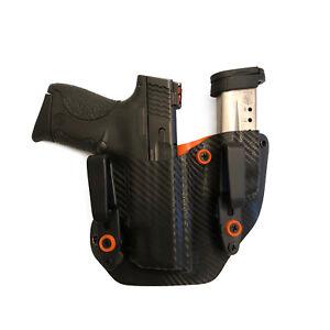 Fits Sig Sauer P365XL Lima Light Laser Gun Mag Combo IWB ~ORANGE, CARBON FIBER~