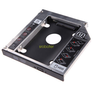 12.7mm 2nd SATA to SATA Hard Drive HDD SSD Caddy Adapter for iMac 27 late 2009