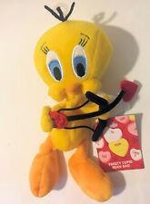 Tweety Bird Cupid Sweetheart Heart Bean Bag Plush Warner Bros Looney Tunes NWT